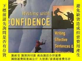 二手書博民逛書店writing罕見with confidence (sixth