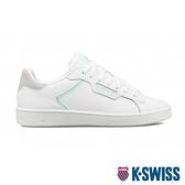 K-SWISS Clean Court II CMF時尚運動鞋-女-白/粉綠