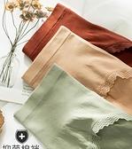 高腰內褲女純棉襠抗菌收腹提臀透氣中腰蕾絲短褲