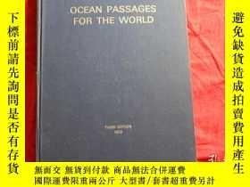 二手書博民逛書店OCEAN罕見PASSAGES FOR THE WORLD【大洋