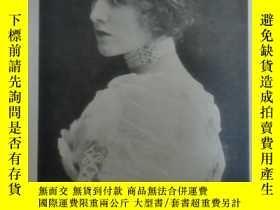 二手書博民逛書店1905年罕見ANTIQUE POSTCARD - Miss Miss Edna May 古董明信片《名伶 梅小姐