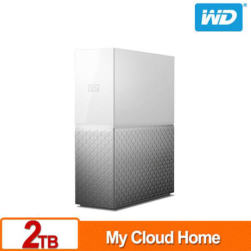 WD My Cloud Home 2TB 3.5吋 網路儲存伺服器