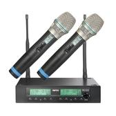 嘉強 MIPRO ACT-312B 半U雙頻道自動選訊無線麥克風