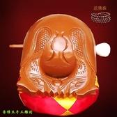 木魚 實木木魚法器精品純手工香樟木雕刻3.5寸-24寸優美音質一套結緣