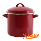 RISOTTO 熱戀巴西紅-琺瑯雙耳湯鍋5L