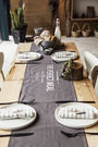 時尚全棉實用桌墊餐墊 杯墊 餐巾4 (35*180cm)
