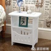 床頭櫃 簡約床頭櫃現代客廳儲物小櫃子宿舍臥室簡易仿實木 原野部落