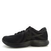 Nike Revolution 4 [908988-002] 男鞋 慢跑 運動 休閒 黑 黑