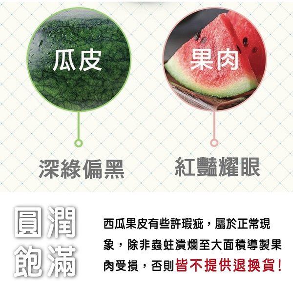 【果之蔬-全省免運】吊網甜美人西瓜X2顆(約4台斤±10%/顆)