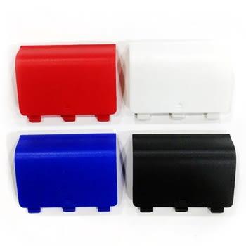 [哈GAME族]滿399免運費 可刷卡XBOX ONE 控制器 電池蓋 電池背蓋 手把 電池後蓋 紅/白/黑/藍 四色
