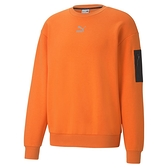 PUMA Interstellar 瘦子代言著用款 男款橘色長袖圓領衫-NO.53029123