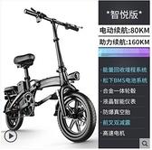 斯洛克新國標折疊電動自行車鋰電池代步代駕電瓶助力車小型電動車 童趣潮品