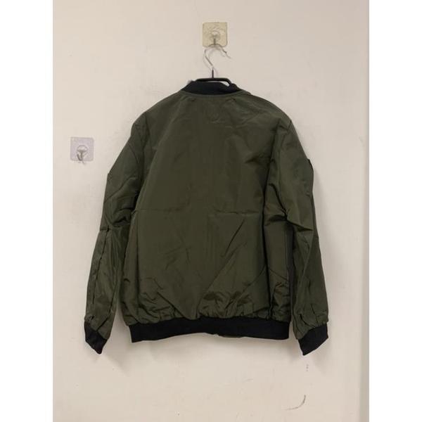 基本款百搭修身休閒飛行夾克外套棒球服(M號/777-8917)