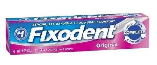 美國 Fixodent 假牙黏著劑 68G/條★愛康介護★