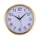 【DX401】12寸圓形靜音掛鐘 石英鐘 簡約時鐘 客廳時鐘 超靜音時鐘 EZGO商城