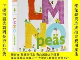 二手書博民逛書店英文原版罕見LMNO Peas Board Book (Clas