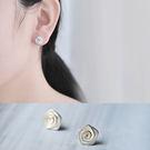 耳環 時尚螺旋紋耳飾【TSES621】 icoca  03/24