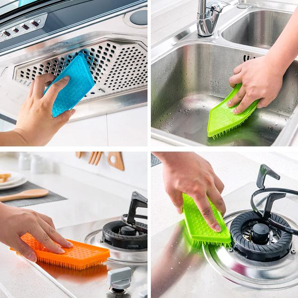 [超豐國際]清潔刷廚房用品水果蔬菜小刷子窗戶灶臺水槽凹槽清洗縫隙刷