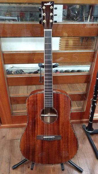 凱傑樂器 MIDDLE  全單板 桃花心木 民謠吉他 木吉他
