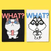 白XL 現貨速達 純棉短T MIT台灣製 短袖t恤【Y0886-2】萌寵-貓狗短手自拍 賓士貓 哈士奇