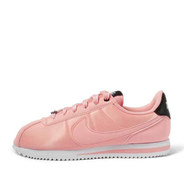 Nike Cortez Basic Txt Vday Gs [AV3519-600]大童鞋 女鞋 休閒 阿甘 粉紅 黑