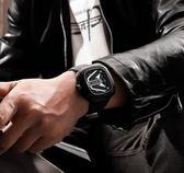 新概念方形個性創意大錶盤手錶男士石英韓版炫酷防水全自動機械錶