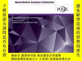 二手書博民逛書店Analytical罕見Chemistry: A Guided Inquiry Approach Quantita