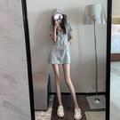 輕奢女裝季可鹽可甜法式設計感小眾運動風連帽溫柔風洋裝子女  【端午節特惠】
