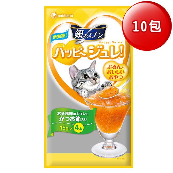銀湯匙 快樂肉凍柴魚風味(4條x10包)│飲食生活家