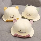 兒童遮陽帽 嬰兒帽子春秋薄款純棉女寶寶幼兒漁夫帽男童夏季遮陽可愛超萌公主-Ballet朵朵