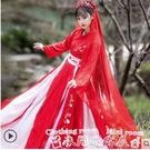 漢服語購胭脂漢服女中國風古裝超仙花嫁婚服學生古風刺繡春季 衣間迷你屋