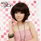 【MokoShop假髮專賣店】敗犬女王款微彎時尚俏短髮鮑伯頭全頂假髮【LY22342】