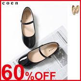漆皮包鞋 平底鞋 日本品牌【coen】