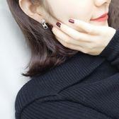 歐美 個性 極簡約 個性 韓國 百搭 創意 拉鍊頭 拉鍊 一條 耳釘 女 耳環 耳飾