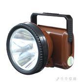 強光頭燈礦燈充電式超亮釣魚燈頭戴式電筒戶外探照燈LED頭燈「千千女鞋」