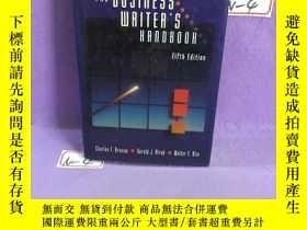 二手書博民逛書店The罕見Business Writer s Handbook商