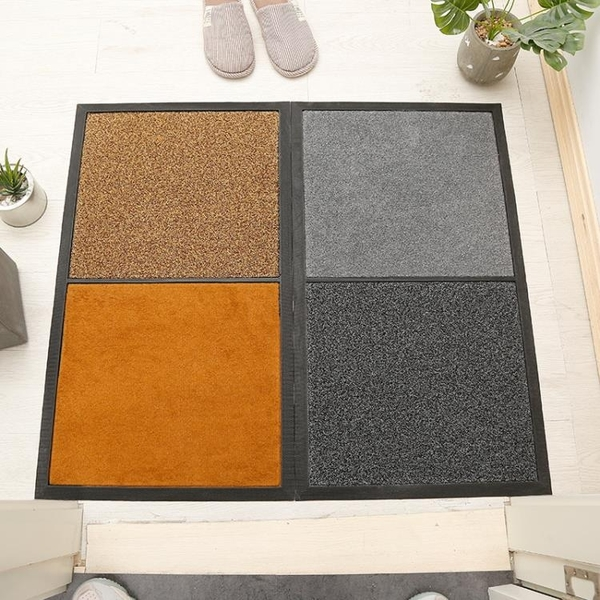 消毒地墊 進門消毒墊定制 辦公門口家用入戶地毯腳墊拼色消毒地墊 享家