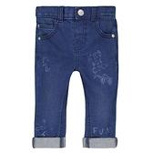 mothercare 藍色塗鴉牛仔褲-單寧系列(M0QC032)3A~8A