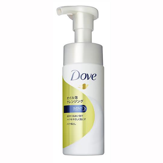 【適合卸淡妝】Dove多芬潤澤卸妝油慕絲135ml [51659]含油泡沫.乾溼兩用