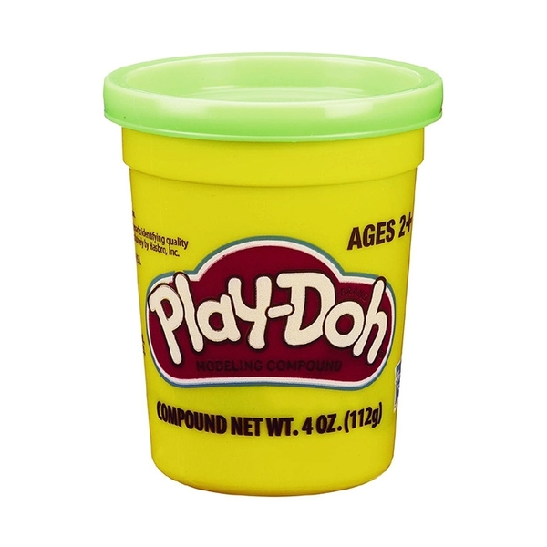 Play-Doh 培樂多黏土 單罐黏土 4oz (亮綠) 【鯊玩具Toy Shark】