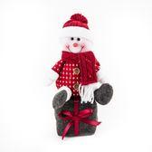 雪人禮物盒擺飾24cm