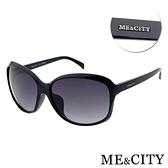 【南紡購物中心】【SUNS】ME&CITY 皇室風格 古典簡約太陽眼鏡 抗UV(ME 120001 L000)