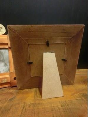 [協貿國際]   木質相框咖啡廳擺件家居櫃子桌面裝飾品  (1入)
