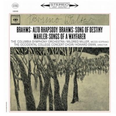 【停看聽音響唱片】【黑膠LP】布拉姆斯:女低音狂想曲、命運之歌 馬勒:旅人之歌 (180g LP)