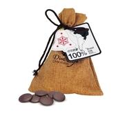 【Diva Life】音樂聖誕 鈕扣巧克力 巴西100% 雙包裝(比利時純巧克力)