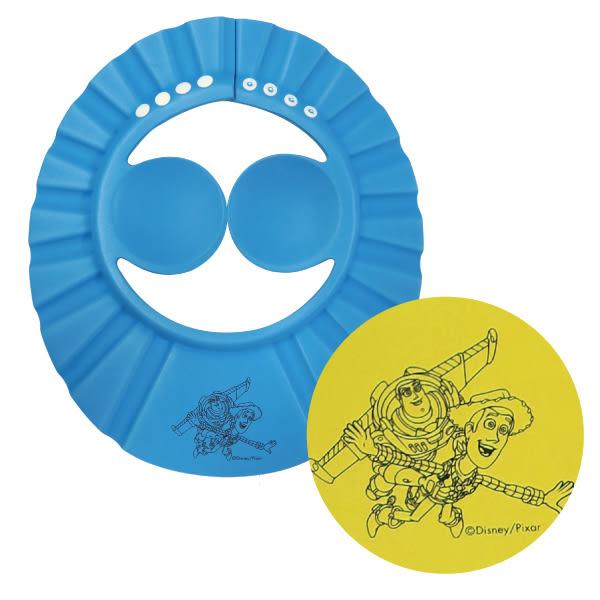 迪士尼 Disney 玩具總動員護耳洗髮帽 藍/黃