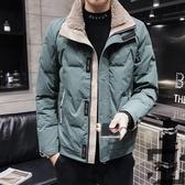 羽絨服男士短款韓版輕薄款秋冬裝外套百搭【左岸男裝】