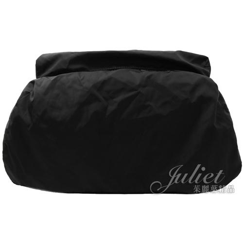 茱麗葉精品【全新現貨】Givenchy 紀梵希 經典尼龍束口扣式雙肩後背包.黑