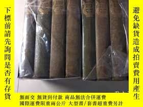 二手書博民逛書店life罕見and works of Burns 8卷全 183