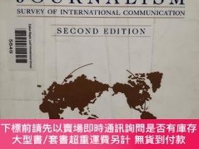 二手書博民逛書店【英文原版】Global罕見Journalism second edition Survey of Interna